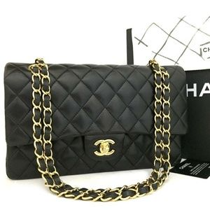 3c3fc29e7710 Brand New CHANEL Double Flap 25 Quilted Lambskin